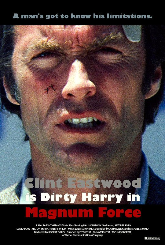MAGNUM FORCE Dirty Harry
