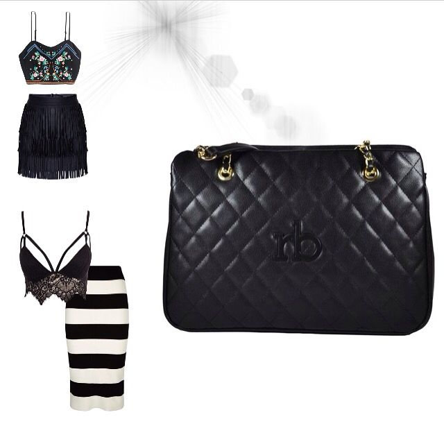 Roccobarocco! The blackandwhite combination! Find it at glammy.pt, instagram and facebook ☺️