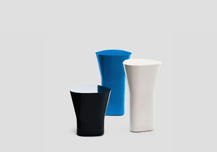 DELTA  SMALL TABLE / DESIGN BARBER E. - OSGERBY J. / BY ESTABLISHED&SONS / YEAR 2008  | #designbest #interior #design #furniture #blue @EstandSons