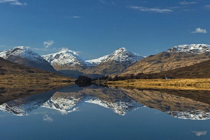 Loch Arklet and the Arrochar Alps