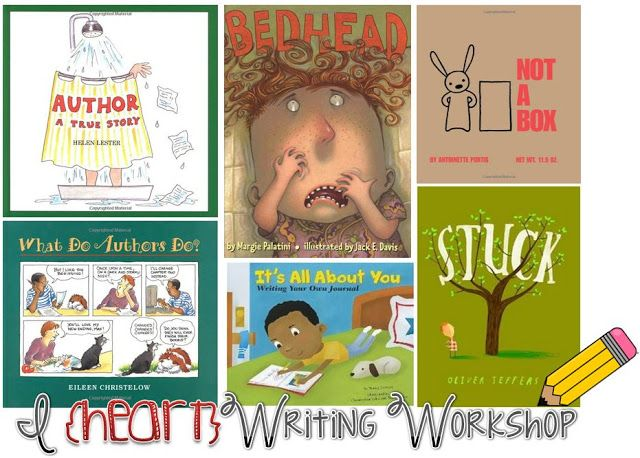 Lauching Writing Workshop: Mentor Texts!