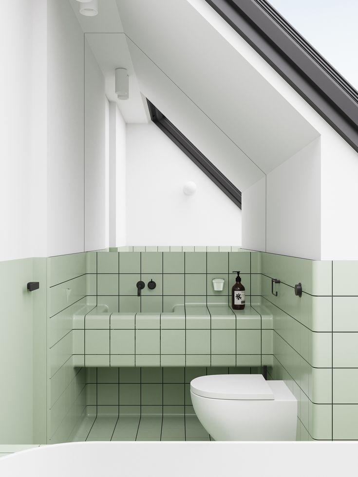 Emil Dervish On Behance Carrelage Salle De Bain Deco Toilettes