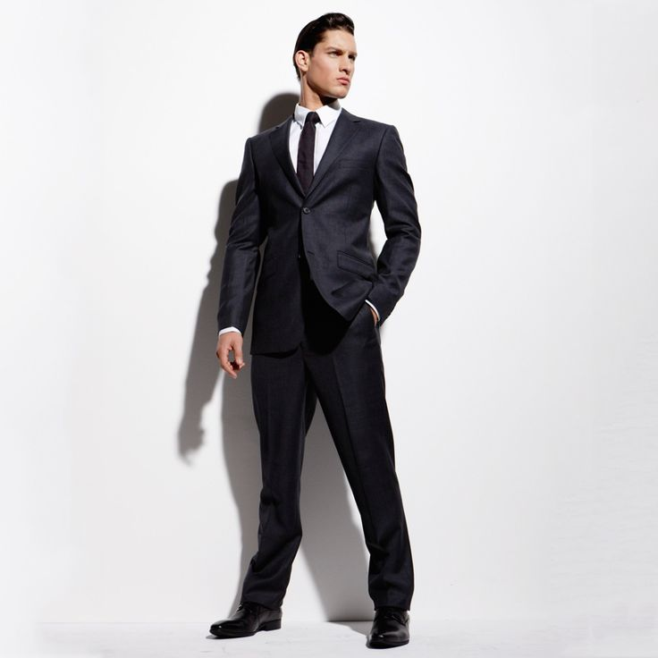 Man by Peter Morrissey suit
