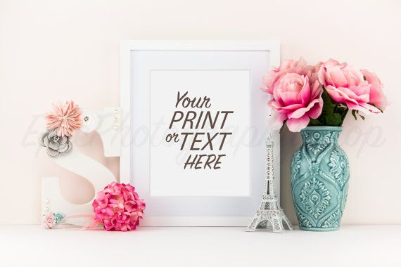 Print Background / Blank Frame / Styled Stock Photography / Product Photography / Staged Photography / Product Background / GR003