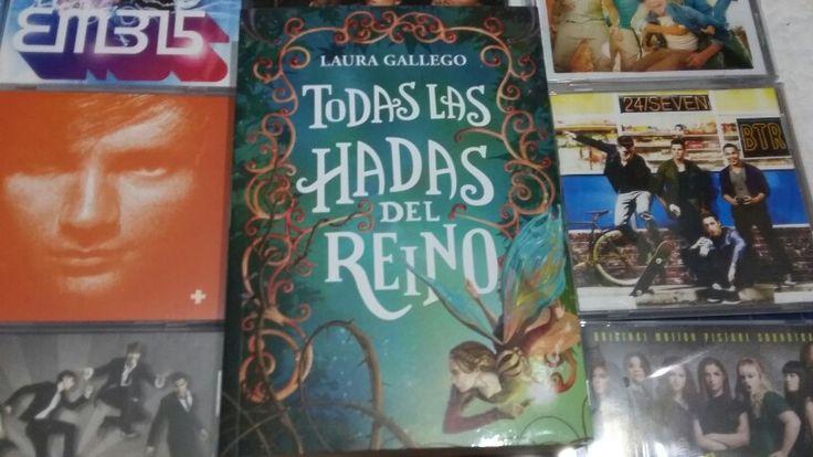 """""""Todas las hadas del reino"""" escrito por Laura Gallego:"""