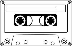 cassette tape silhouette - Google Search