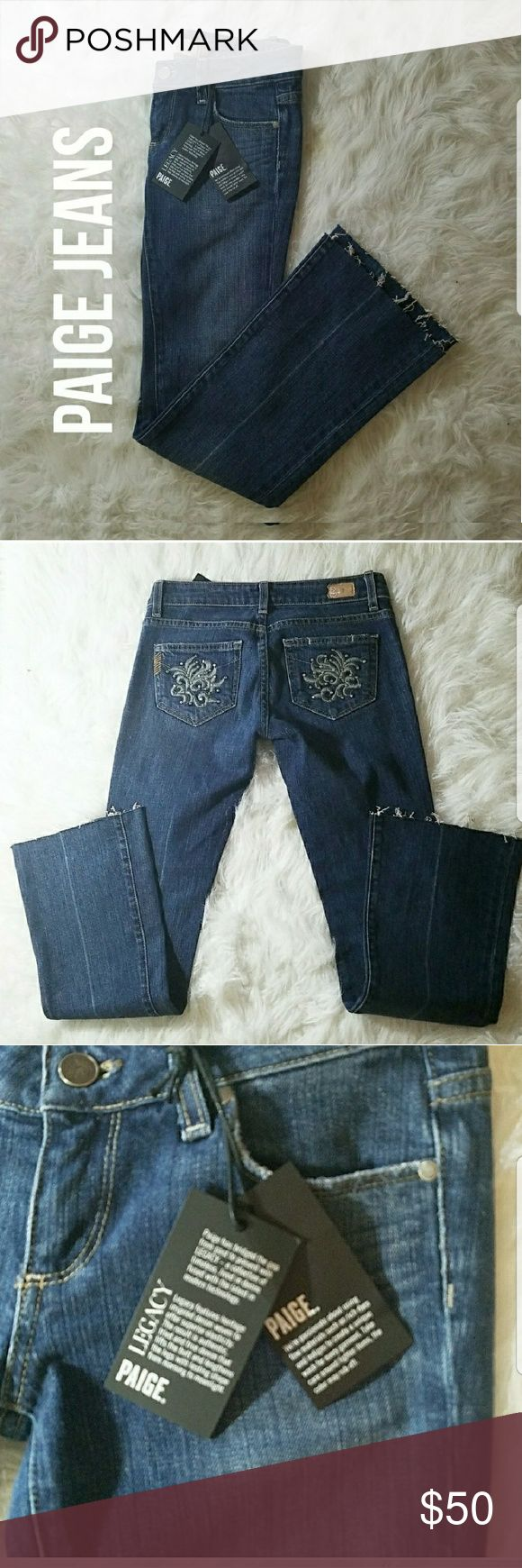 NWT Paige Jeans Laurel Canyon NWT Paige Jeans. Premium Denim sold at Nordstroms. Size 25. 29 inch inseam Laurel Canyon Style Tags: Follow Game Share Game Fall Fashion Denim PAIGE Jeans