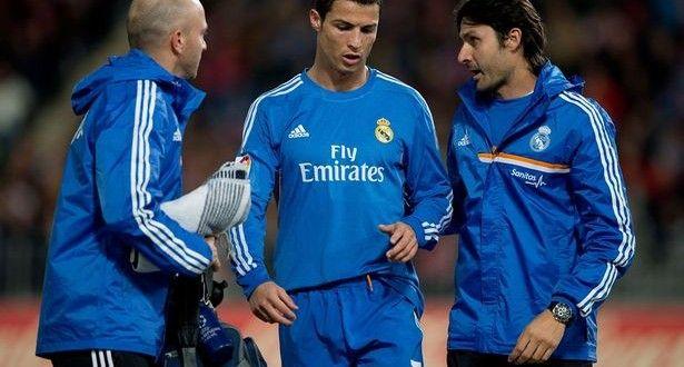 Crisitano Ronaldo miss Galatasaray clash with thigh injury