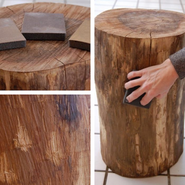 1001 Idees Table Basse En Tronc D Arbre Le Meuble Diy Qui Cache La Foret Table Basse Tronc D Arbre Table Basse Verre Table Basse Bois