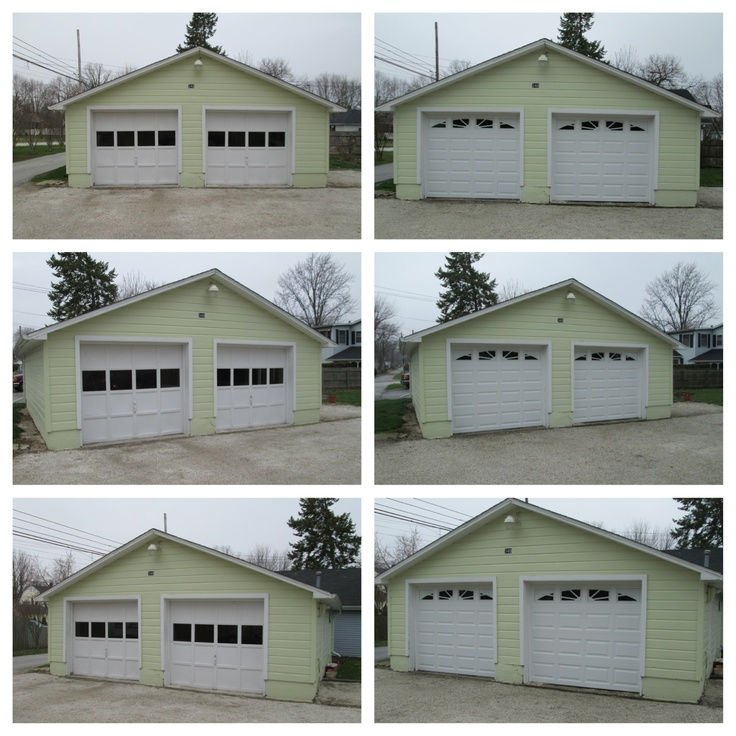 This Customer Chose To Update The Look Of Their Garage With A Clopay 4050  Door With Sunset 503 Windows. Not Only Does The New Door Look Better, ...