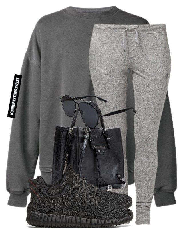 Untitled #2101 by whokd on Polyvore featuring polyvore, fashion, style, NIKE, adidas Originals, Balenciaga, Christian Dior and Haider Ackermann