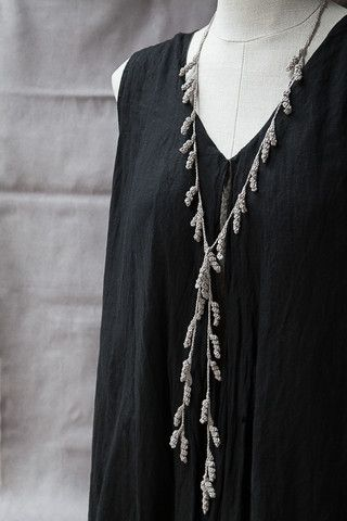 Tendril Necklace by corda   CORDA Oh. My. Gosh. They're asking $104 for this! It's beautiful, but...