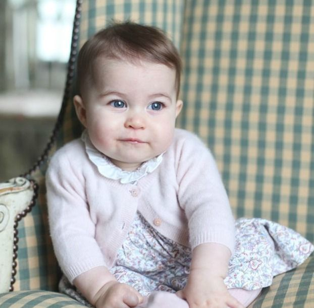 Princess Charlotte, pictured by the Duchess, when she was six months old in November 2015.