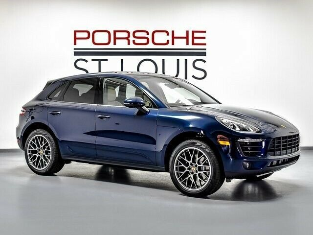 Ebay Advertisement 2018 Macan 2018 Porsche Macan 5566 Miles 7 Speed Porsche Doppelkupplung Pdk Night Blue M Porsche Vehicle Shipping Cars Trucks