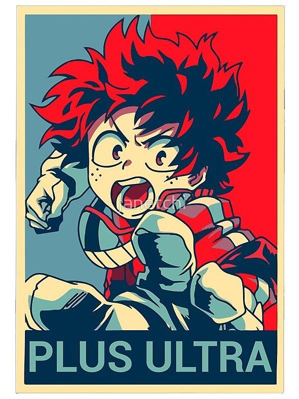 Plus Ultra Boku No Hero Academia Midoriya Hero Poster Hero Wallpaper Hero