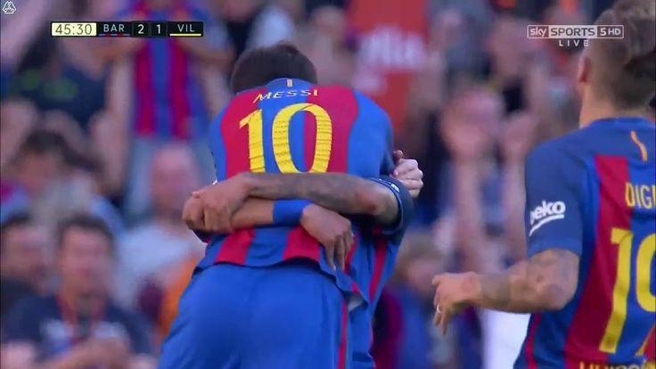 Lionel Messi Goal - Barcelona vs Villarreal 2-1 - 06 May 2017