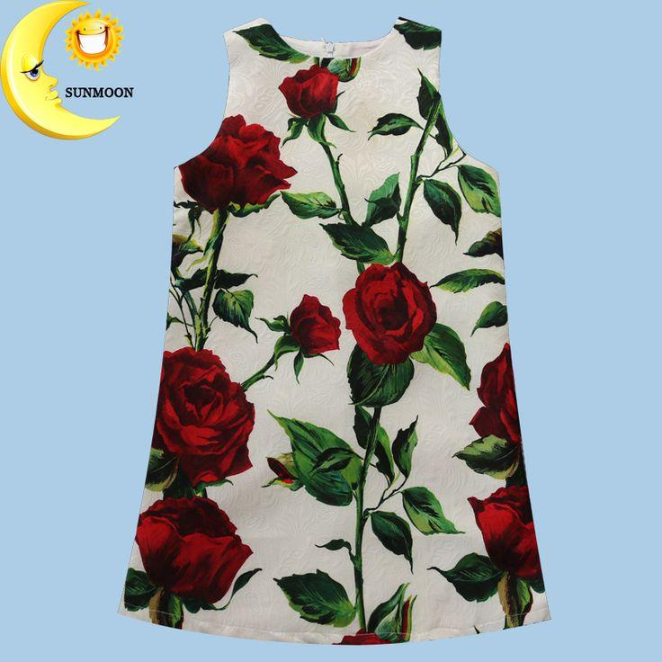 $19.99 (Buy here: https://alitems.com/g/1e8d114494ebda23ff8b16525dc3e8/?i=5&ulp=https%3A%2F%2Fwww.aliexpress.com%2Fitem%2F2016-Summer-girls-dress-new-children-clothing-designer-brand-rose-flower-for-princess-party-wedding-kids%2F32565938746.html ) 2016 Summer girls dress new children clothing designer brand rose flower for princess party wedding kids clothes christmas for just $19.99