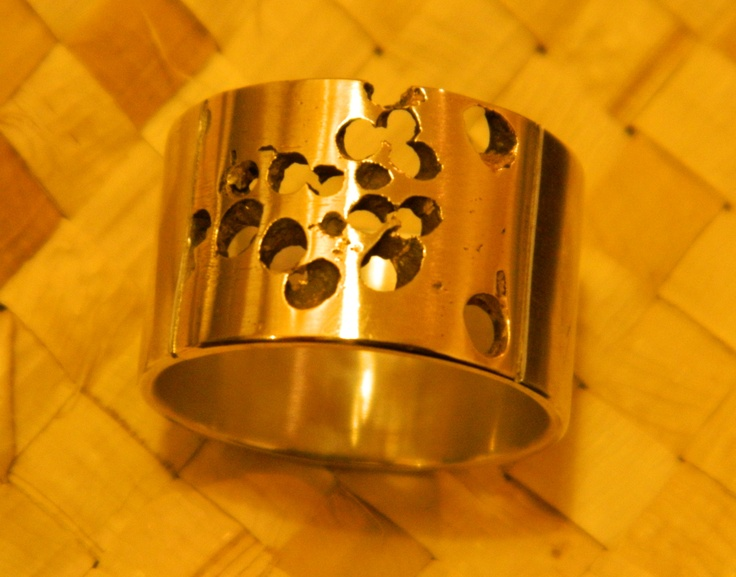Silver and gold ring $445  Made By New Zealand Artist Isaac Ibbotson  see more of his work here  http://coolstoregallery.co.nz/jewellery/isaacibbotson/isaacibbotson.htm