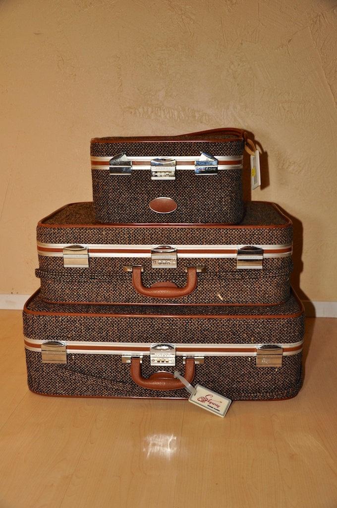 13 best Vintage Luggage images on Pinterest | Vintage luggage ...