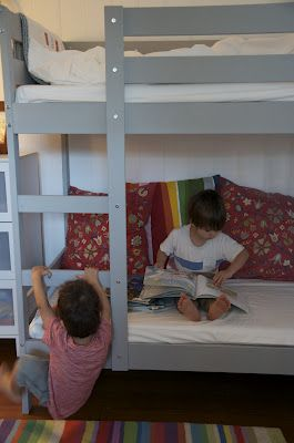 Ikea Mydal Bunk Bed Painted