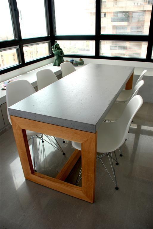 Best 25 Concrete dining table ideas only on Pinterest Concrete