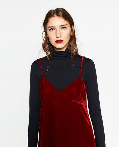 Image 6 of VELVET DRESS from Zara
