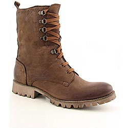 @Overstock - These stylish womens brown boots with a cap toe and vintage leather upper will add some edge to your fall and winter wardrobe. These ankle boots are practical, too - D-ring lacing ensures a custom fit and the durable rubber outsole provides traction.http://www.overstock.com/Clothing-Shoes/Boutique-9-Womens-Optimus-Brown-Boots/6760667/product.html?CID=214117 INR              3121.00