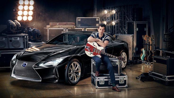 Партнер кампании нового Lexus LC – Марк Ронсон