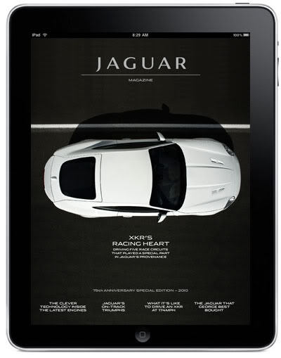 Jaguar Magazine iPad App