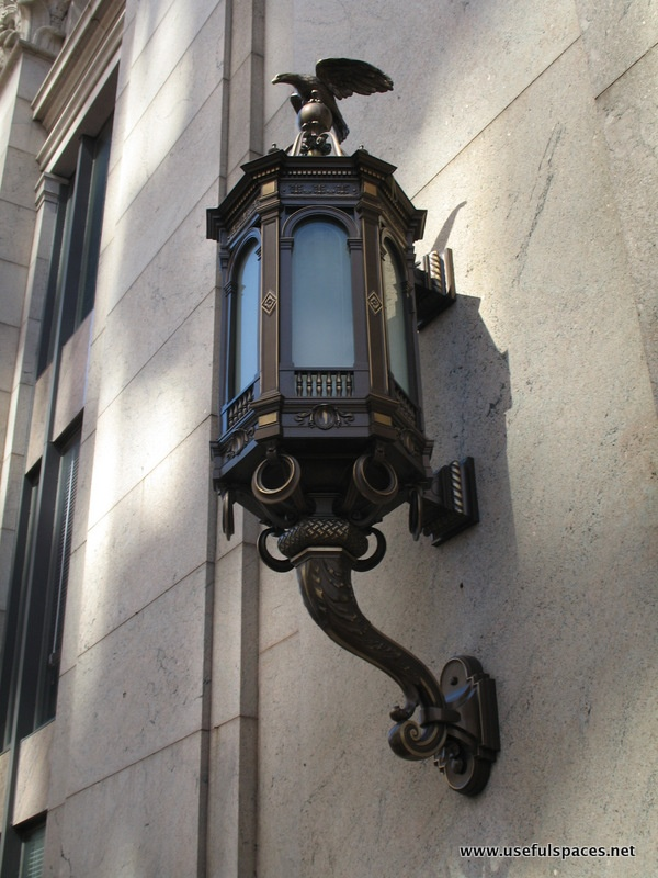 Lamp at the Whitney Bank