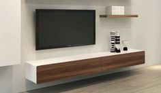 floating entertainment unit tv - Google Search