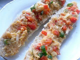 Zdravě jíst: Paprikovo-cizrnová pomazánka