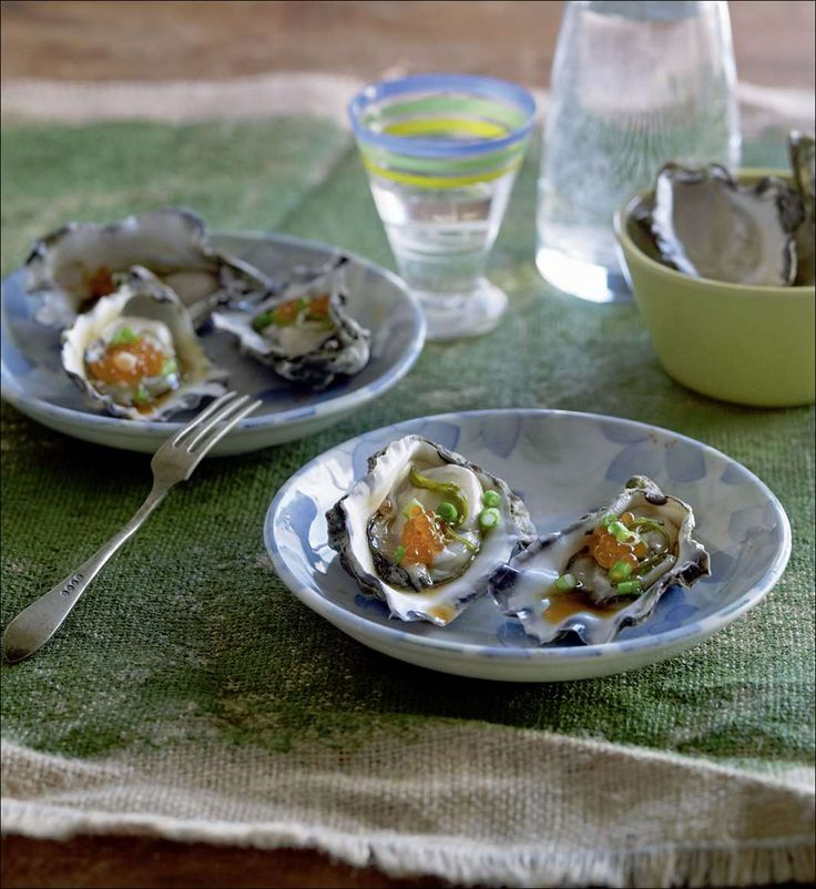 Oysters with Japanese dressing from Izakaya | Cooked