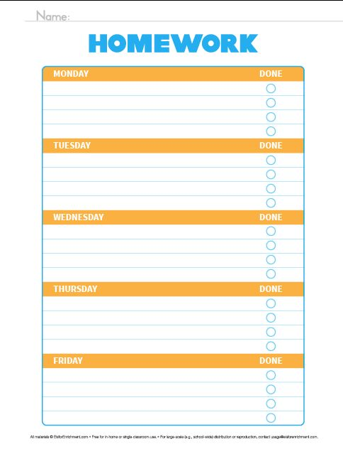 88 best Homework Organizer images on Pinterest | Planner ideas ...