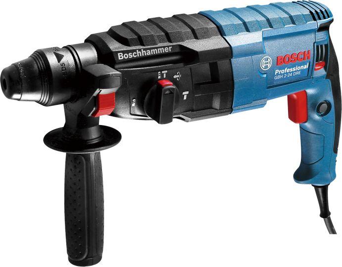Vrtací kladivo Bosch GBH 2-24 DRE Professional, (SDS-Plus; 790 W; 2,7 J, kufr), 0611272100