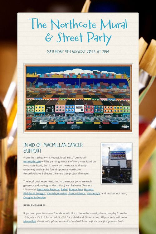 The Northcote Mural & Street Party