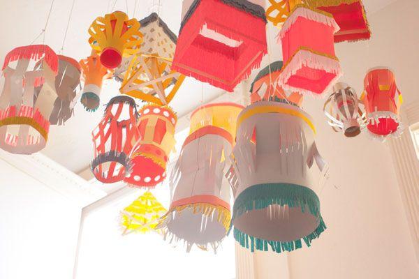diy paper lanterns | Paper Lantern DIY | Oh Happy Day!