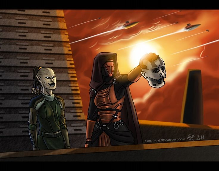 How Kotor 1 should have ended by Epantiras on DeviantArt