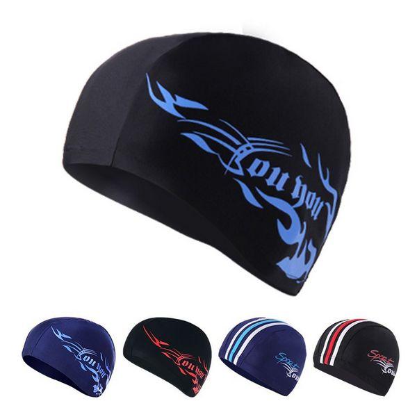 H381 Спа Спандекс шапочка Для Плавания Пакет волосы шапочку для купания Подходит для бассейн Спа мужской и женский разнообразие дополнительно