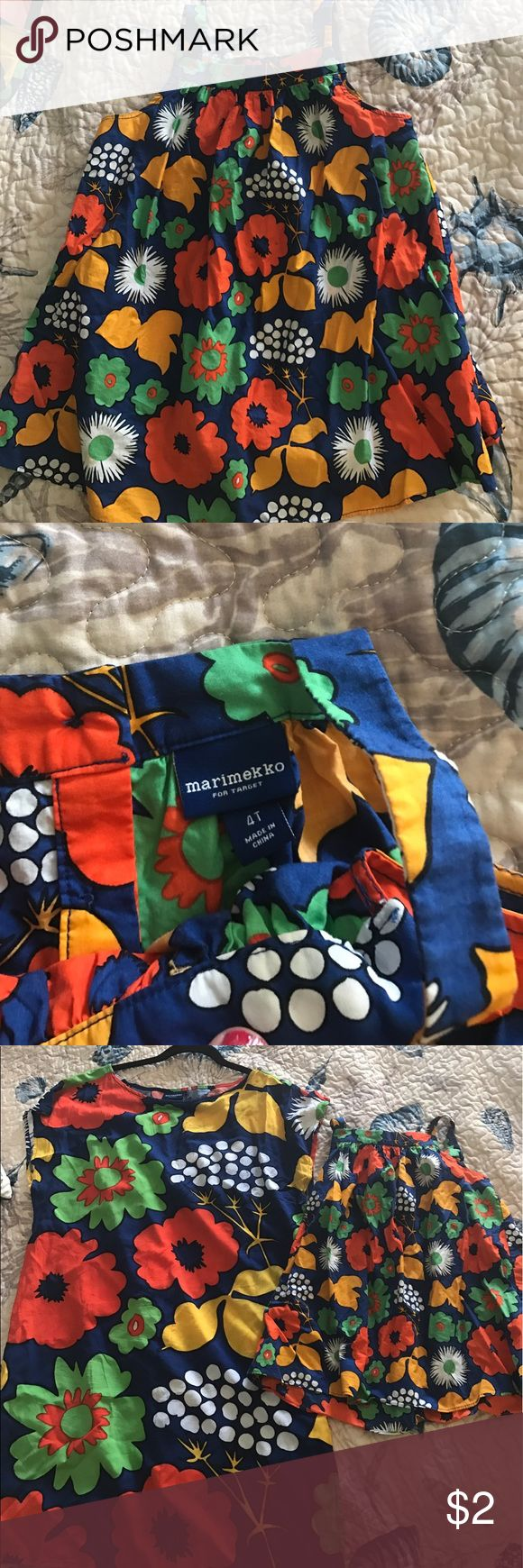 Marimekko for target cover up size 4t mommy & me Size 4t only worn a couple times like new matching with another listing mommy and me Swim Coverups