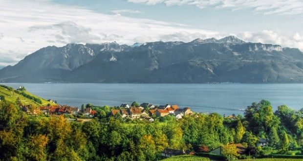Overlooking Lake Geneva, the Swiss city of Lausanne is home to flower-filled streets, chocolate box architecture and traditional cheese, wine and sausages — as well as fine dining restaurants extolling the virtues of the Alpine larder