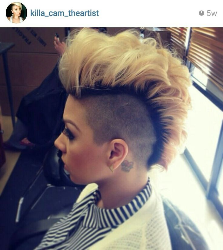 Female mohawk