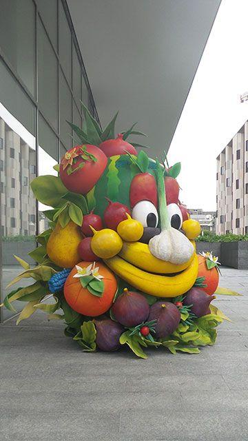 La #Mascotte dell' #Expo2015 #Foody #expo365 #raiexpo
