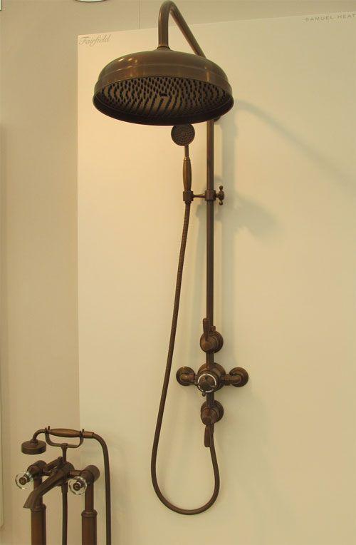 Picture Collection Website  uFairfield u shower in Country Bronze finish by Samuel Heath at Decorex International