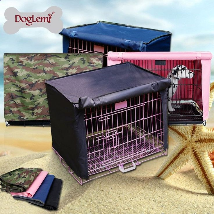 Dog Kennel Cage Cover Waterproof Pet Crate Cover