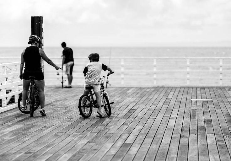 End of the pier.   by SteveGreaves