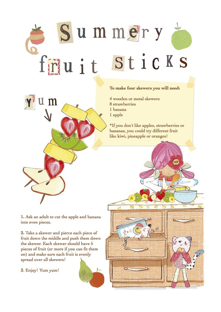 Emily Button fruit skewers  www.emilybutton.co.uk