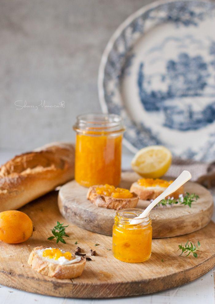 Sabores y Momentos | Mermelada de Nísperos {fruta de temporada} | http://saboresymomentos.es receta