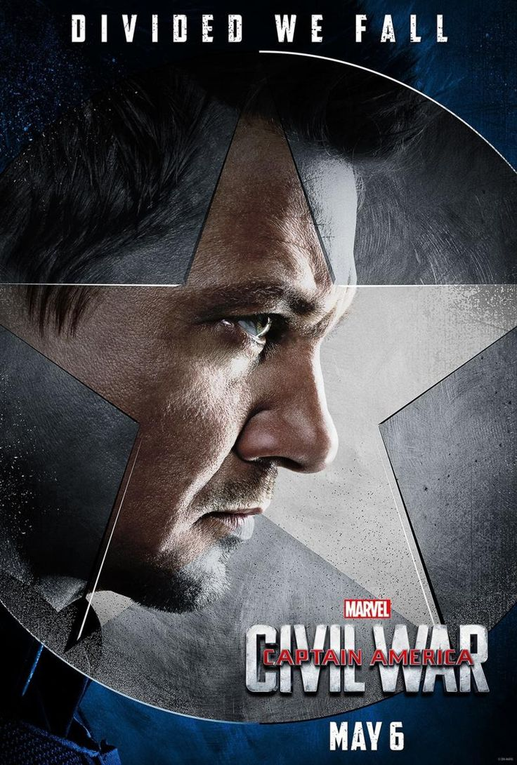Affiche du film Captain America civil war de 2016
