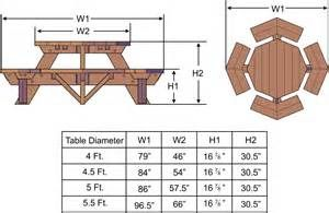 Free Octagon Picnic Table Plans And Drawings - The Best Image Search